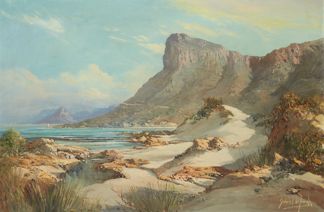 Gabriel Cornelis de Jongh (South African, 1913-2004) Betty's Bay, False Bay Coast