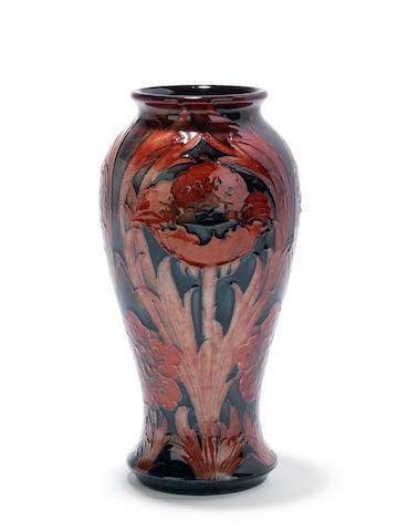 A William Moorcroft flambé 'Poppy' vase Circa 1920