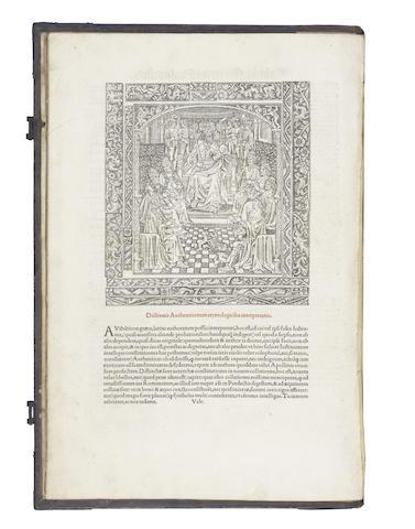 JUSTINIAN I. Volumen... juris totius civilis, folio, 1524