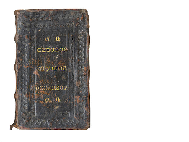 CATULLUS, TIBULLUS and PROPERTIUS [Opera], [1502]