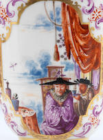 """The """"Half-Figure Service"""": a highly important group of Meissen tea wares, circa 1723-24"""