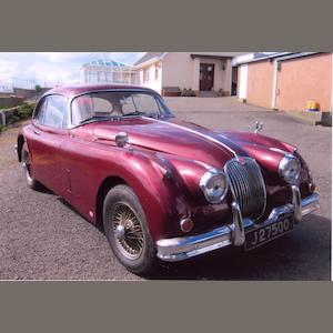 1957 Jaguar XK150 Fixed Head Coupe
