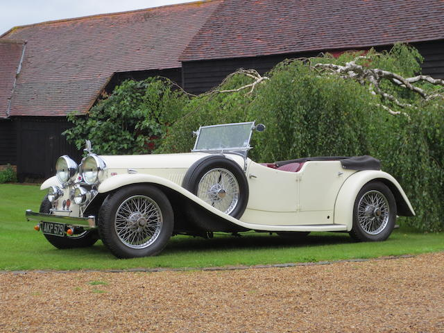 1934 Alvis Speed Twenty Tourer  Chassis no. 11170 Engine no. 11636
