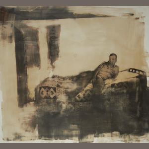 Zwelethu Mthethwa (South African, born 1960) Boy on a bed