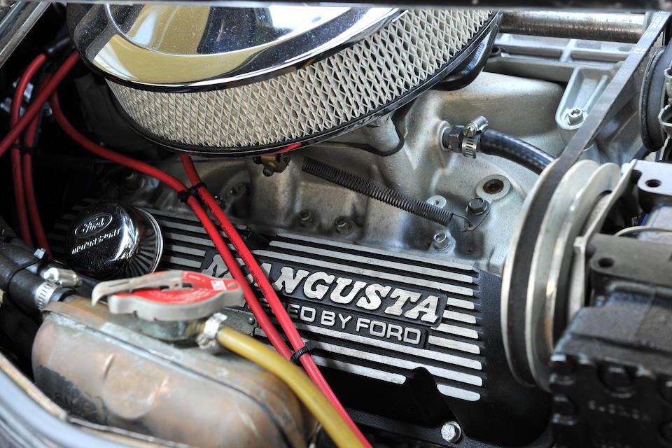 1969 De Tomaso Mangusta Coupé  Chassis no. 8MA542 Engine no. 8MA542