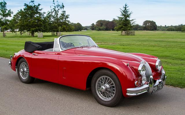1959 Jaguar XK150 3.4-Litre Drophead Coupé  Chassis no. S827338BW Engine no. V6416-8