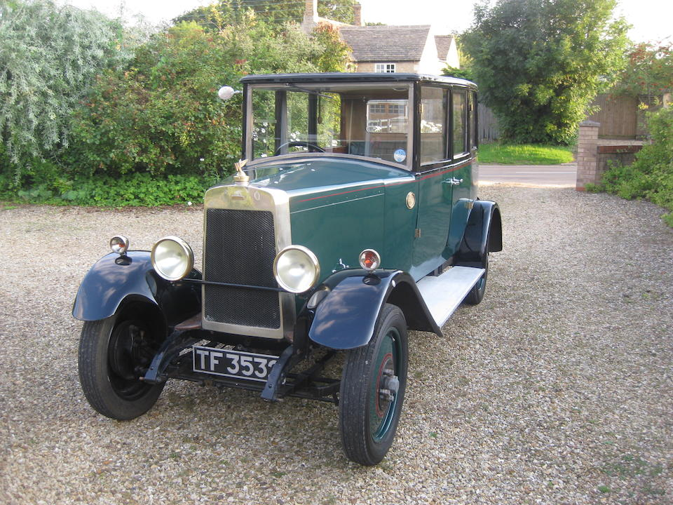 1928 Waldron Wayfarer Saloon  Chassis no. 101 Engine no. 101