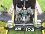 1913 Humberette 8hp Two-seater  Chassis no. E7344  Engine no. E7533