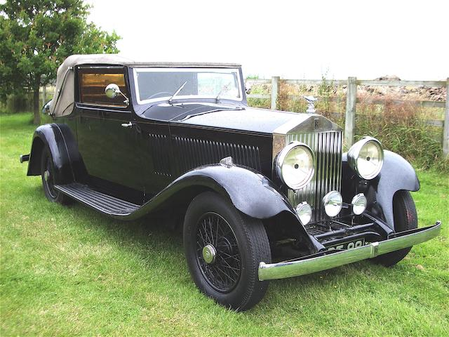 1933 Rolls-Royce 20/25hp Three Position Drophead Coupe  Chassis no. GTZ18 Engine no. K8E