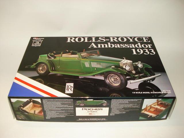 A Pocher 'Rolls-Royce Ambassador 1933' model kit,