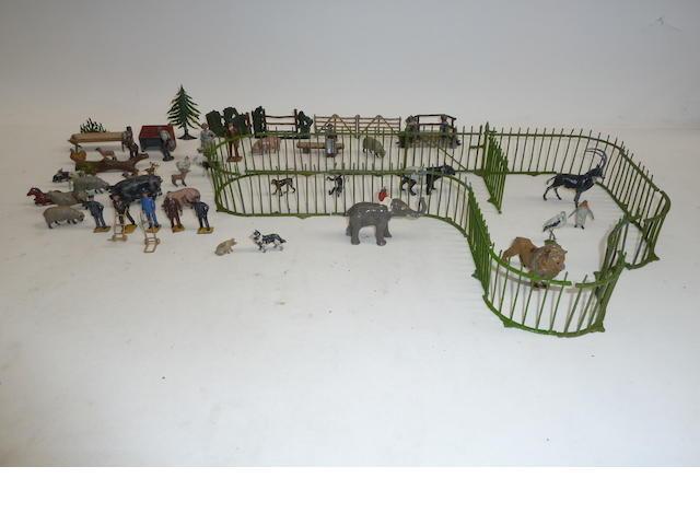 Britains Zoo Cage Pieces  71