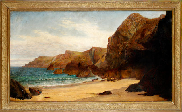 Anna Blunden, 19th Century Kynance cove, Cornwall