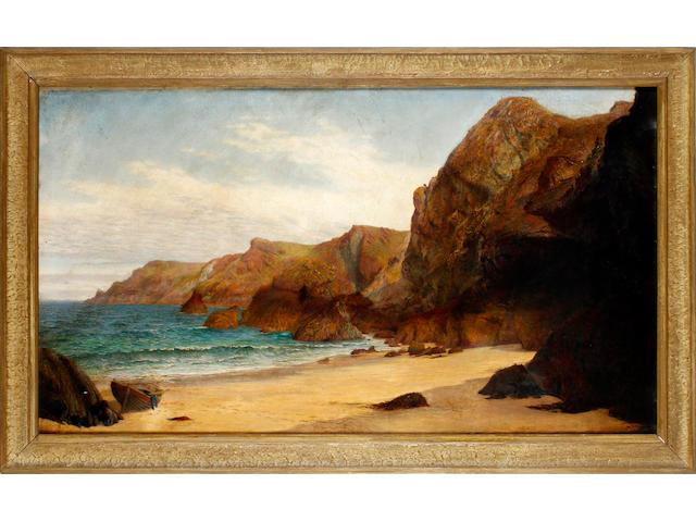 Anna Blunden, 19th Century Kynance cove, Cornwall