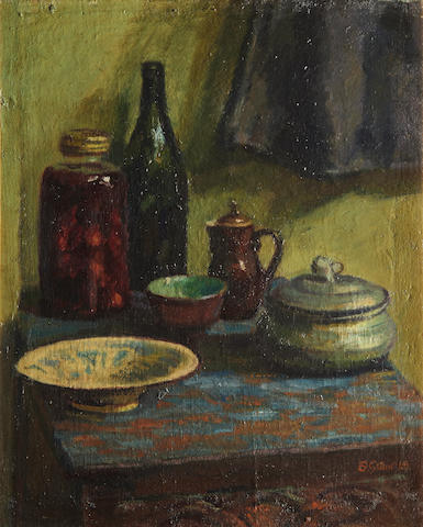 Duncan Grant (British, 1885-1978) Still life at Charleston