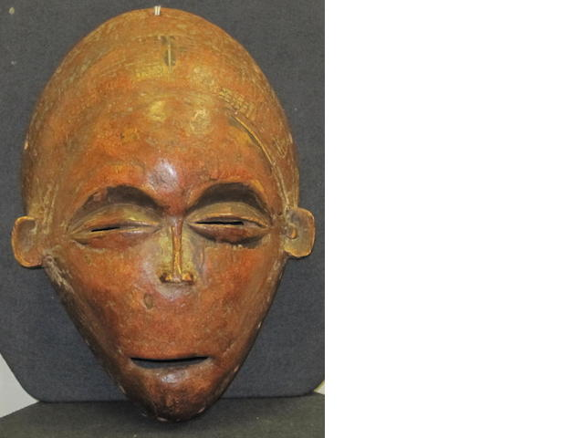 An Chokwe mask Angola 28cm high