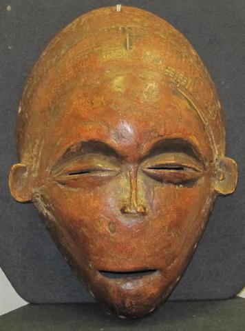 An Chokwe mask Angola 28cm high