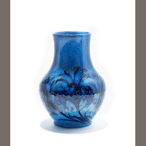 A William Moorcroft powder blue 'Cornflower' vase Circa 1920