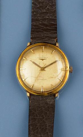 Longines: A gentleman's automatic wristwatch
