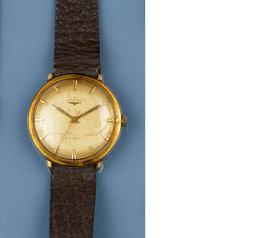 Longines: A gentleman's automatic wristwatch