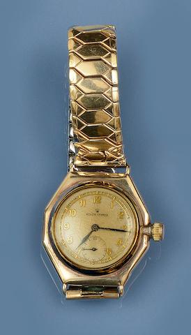 Rolex: An Oyster watch head, circa 1940s