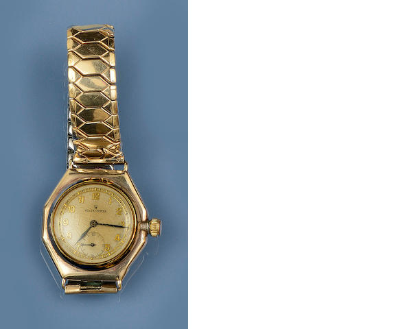 Rolex: An Oyster watch head, circa 1940s