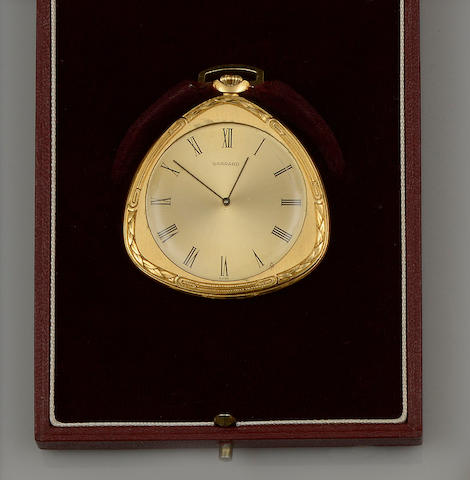 Garrard & Co: An 18ct gold open face pocket watch