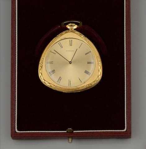 Garrard & Co: An 18ct gold open face pocket watch