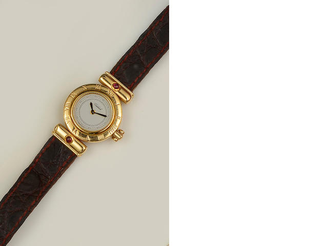 Tabbah Beret: A lady's 18ct gold wristwatch