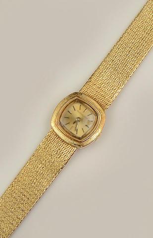 Jaeger-LeCoultre: A lady's wristwatch