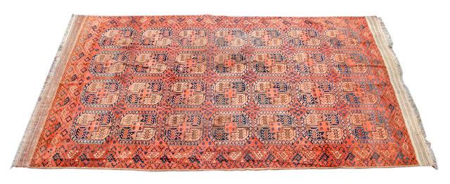 An Afghan carpet 465 x 280cm