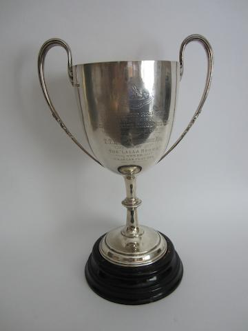 Silver sailing trophy, Southport
