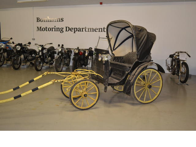 A horse-drawn phaeton