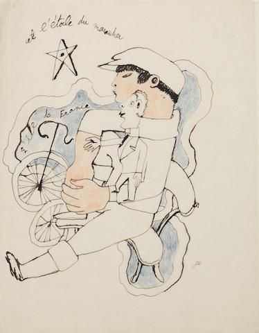 Jean Cocteau (French, 1889-1963) Et l'étoile du maraicher
