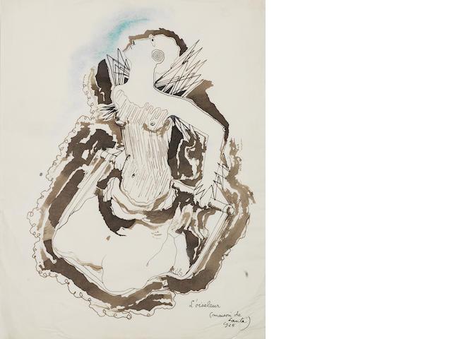 Jean Cocteau (French, 1889-1963) Maison de santé