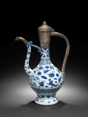 A Wanli porcelain Ewer made for the Turkish Market China, AH 1563-1620 AD SURELY??