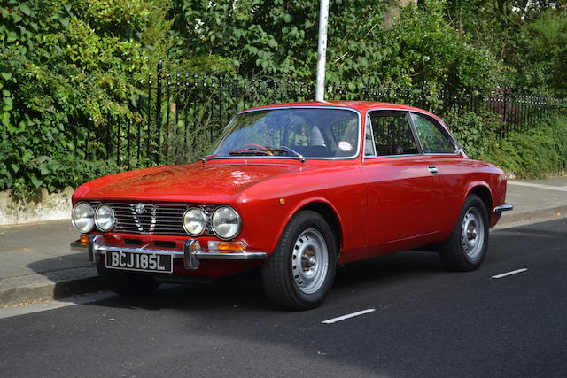 20,000 miles from new,1972 Alfa Romeo 2000 GTV Coupé  Chassis no. 2411431 Engine no. AR00512/51267