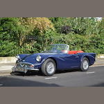 1962 Daimler SP250 Roadster  Chassis no. 103909 Engine no. 96665