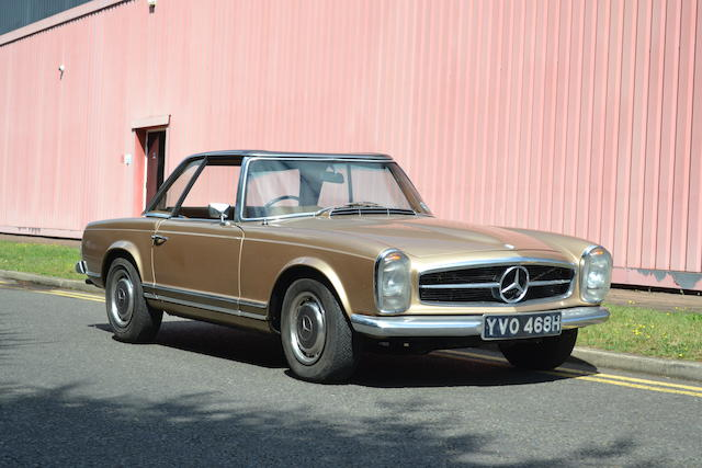 1970 Mercedes-Benz 280SL Hardtop Convertible  Chassis no. to be advised Engine no. to be advised