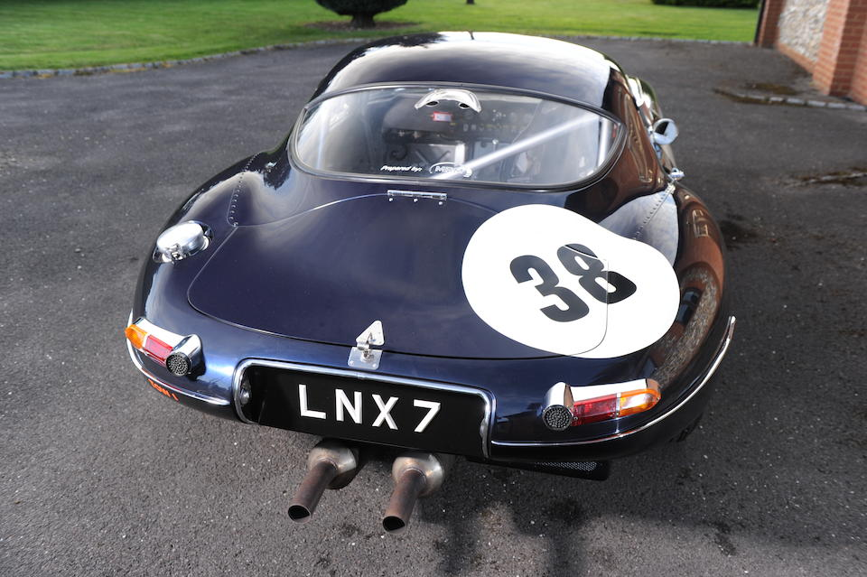 1965 Jaguar E-Type 3.8-Litre Lightweight Low-Drag Competition Coupé  Chassis no. 860291 Engine no. B4352/8