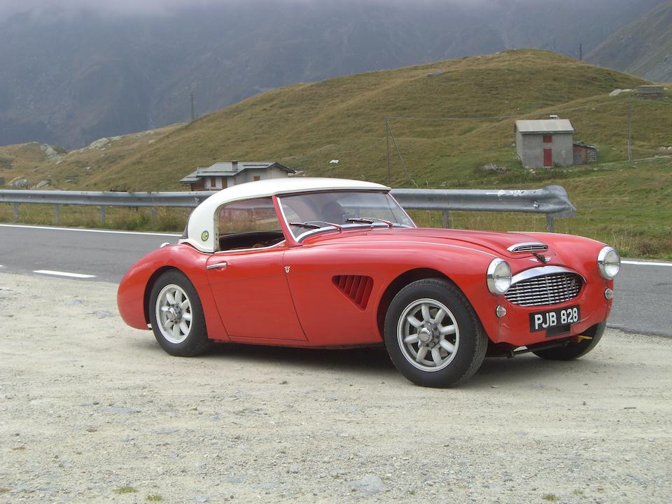 The ex-works demonstrator, Ted Worswick, 'School for Scoundrels',1958 Austin-Healey 100/6 Rally Car  Chassis no. BN6/532