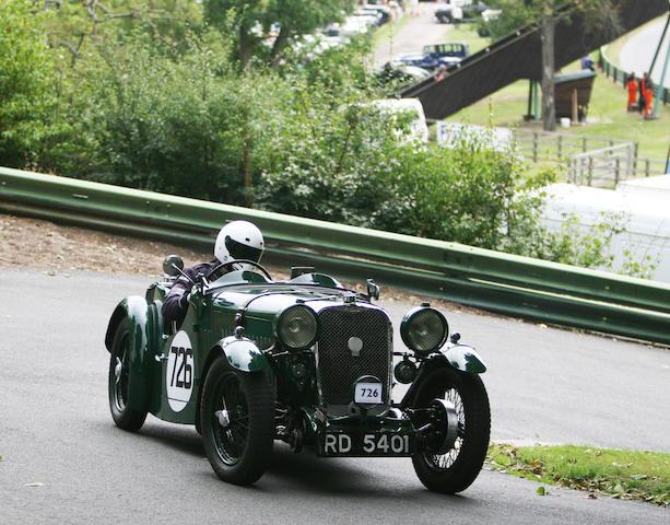 1934 Singer Nine Le Mans Sports  Chassis no. 60123 Engine no. 55655