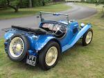 1937 Riley 12/4 Kestrel Sprite
