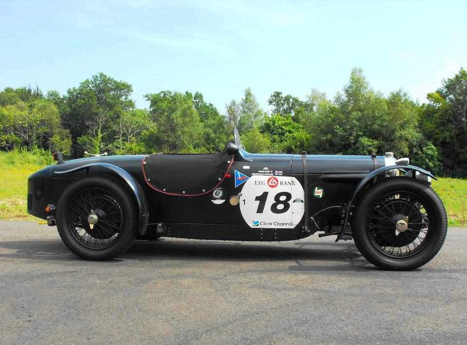 1927 Riley 9hp Brooklands, Chassis no. 601020