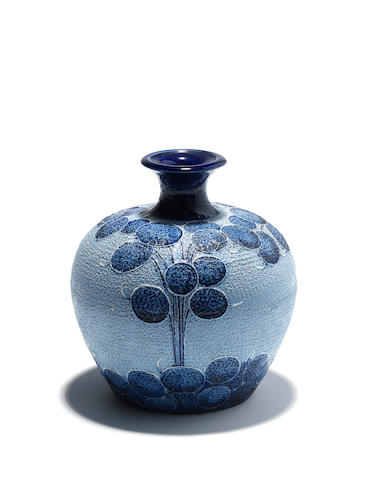 A William Moorcroft Florian Ware 'Honesty' vase Circa 1903
