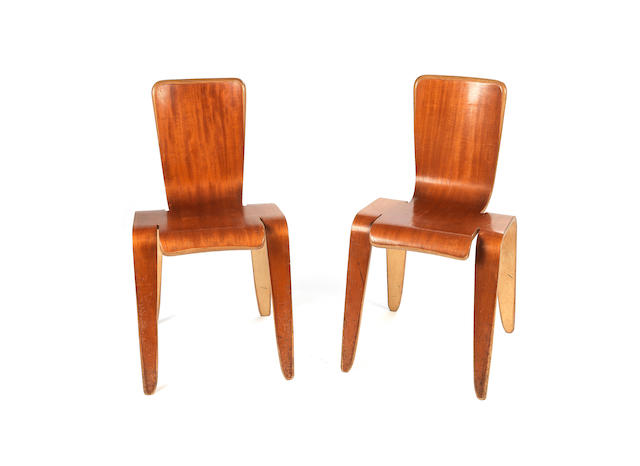 Neil Morris A pair of Bambi chairs, designed c.1950