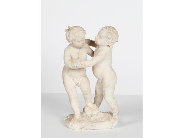 A 19th Century Italian marble group