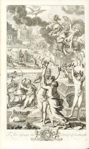 OVID Metamorphoses in Fifteen Books. Translated by the Most Eminent Hands, 1717