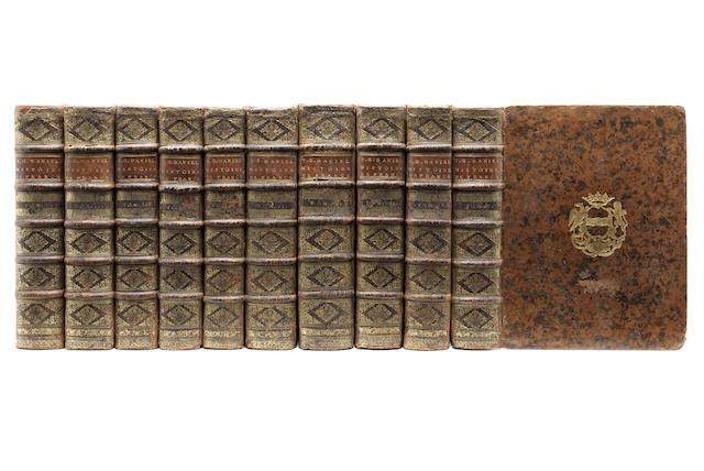 DANIEL (GABRIEL) Histoire de France, depuis l'établissement de la monarchie francoise dans les gaules, 10 vol., 1729