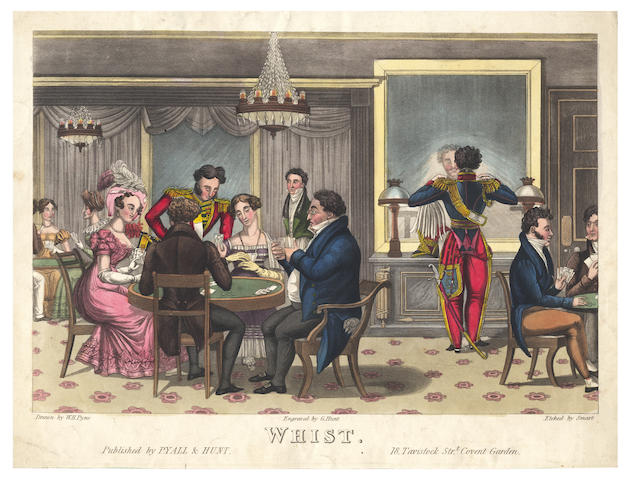 PYNE (WILLIAM HENRY) Whist, c.1825; and other prints (quantity)