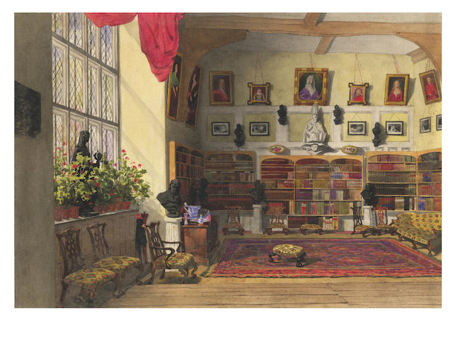 FOWLER (R.) In an Old Home in Kent; and other watercolours (quantity)